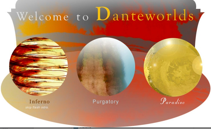Danteworlds home page